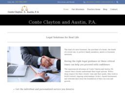Conte Clayton & Austin, P.A.