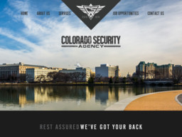 Colorado Security Agency - Inc
