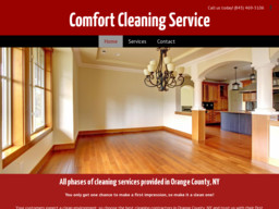 Comfort Cleaning Service