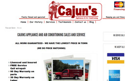 Cajuns Air Conditioning and Appliance Repair