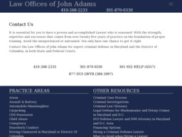 Law Offices Of John Adams