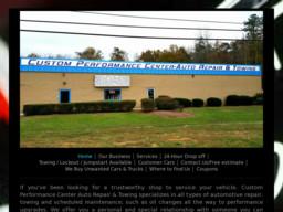 Custom Performance Center Auto Repair & Towing