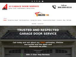 A1 Garage Door Repair Amp Service Tempe On University Dr