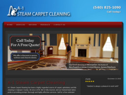 A - 1 Steam Carpet Cleaner