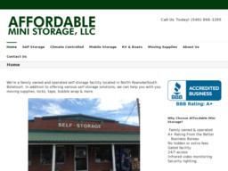 Affordable Mini Storage LLC