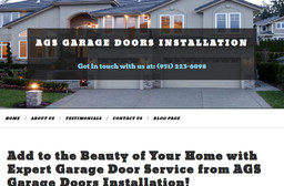 Ags Garage Doors Installation On 13th St In Beaumont Ca