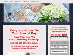 Akron Wedding Planning
