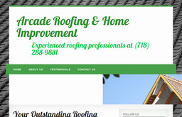 Arcade Roofing Amp Home Improvement On 84th St In Brooklyn