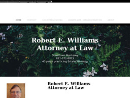 Robert E. Williams, Attorney at Law