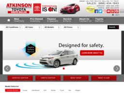 Atkinson Toyota South Dallas
