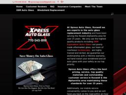 Xpress Auto Glass Roswell GA