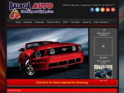Balboa Autos