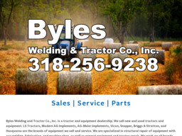 Byles Welding & Tractor Co., Inc.