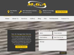 M.G.A Garage Door Repair Fort Worth TX