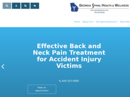 Georgia Spinal Health & Wellness