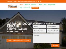 Grand garage door repair houston tx on sylmar rd in for Garage door repair houston tx