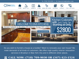 Dna Kitchen Cabinets On 35th St In Brooklyn Ny 718 709