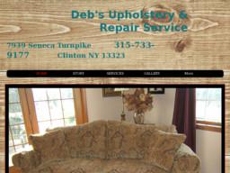 Deb's Upholstery and Repair Service