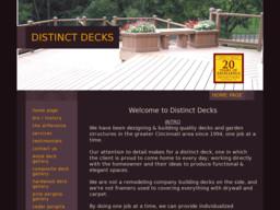 Distinct Decks