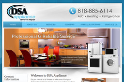 Dsa Appliance On Devonshire Ave In Chatsworth Ca 818
