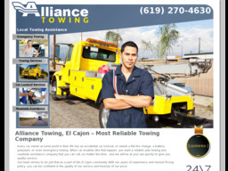 Alliance Towing
