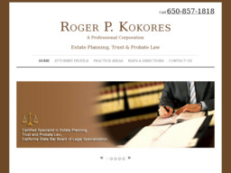 Roger P Kokores A Professional Corp