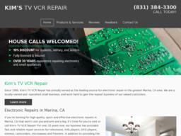 Kim's TV VCR Repair