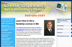 Hardship License Lawyer
