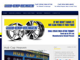 Hubcap Heaven On State Rd In West Park Fl 954 964 0736 Tires