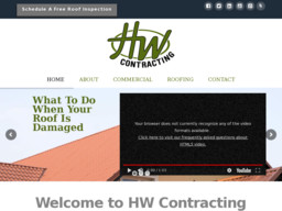 HW Contracting and Roofing