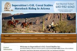O.K. Corral Stables Horseback Riding in Arizona
