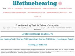 Lifetime Hearing - Denton