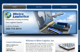 Metro Logistics Inc On White Plains Rd In Scarsdale Ny
