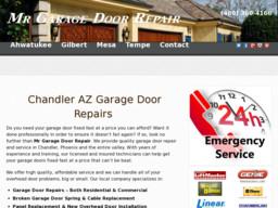 Mr garage door repair on higley rd in gilbert az 480 for Garage door repair in gilbert az