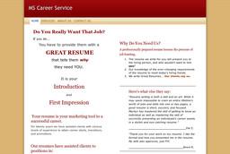 Ms Secretary Resume Service
