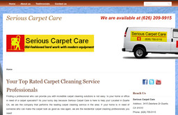 Serious Carpet Care on Deerlane Dr in Duarte, CA - 626-755 ...
