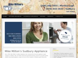 Mike Milton's Sudbury Appliance