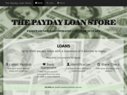 Payday Loans Wadsworth, TX