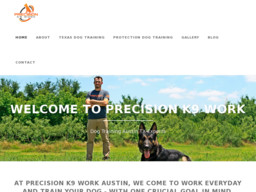Precision K9 Work - Austin Dog Training