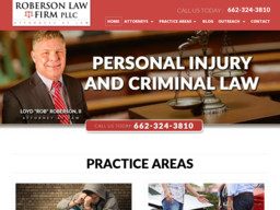 Roberson Personal Injury Lawyers