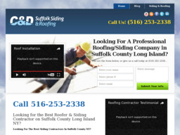 C&D Suffolk Siding & Roofing