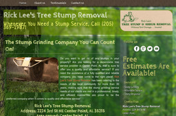Rick Lee's Tree Stump Removal