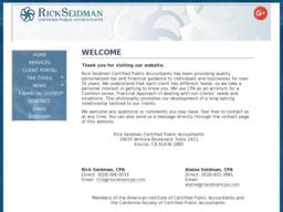 Rick Seidman Certified Public Accountants
