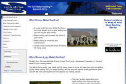 Lyon Metal Roofing Amp Supplies Inc In Greeneville Tn