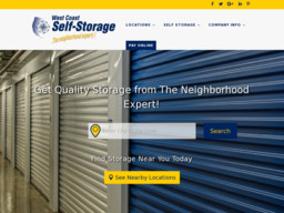 West Coast Self Storage Of Padden Parkway