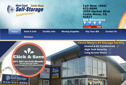 Gentil West Coast Self Storage Costa Mesa