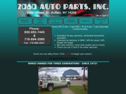 2060 Auto Parts Inc.
