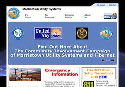 Morristown Utility Systems - Fibernet