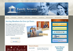 Family Security Credit Union On Somerville Rd In Decatur Al 256