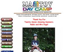 Ma Tov Day Camp Inc